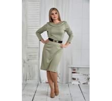 Платье шалфей 42-74 размер ККК617-0399-2