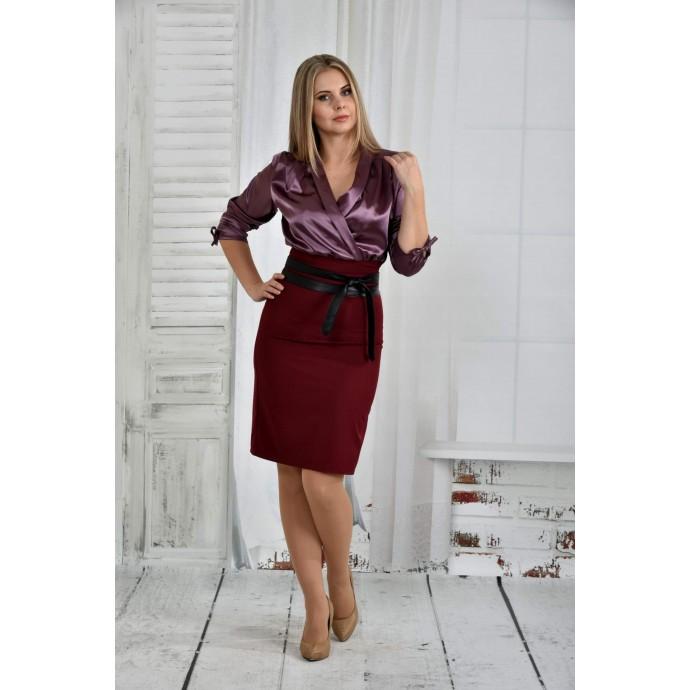 Бордо платье 42-74 размер ККК621-0402-1