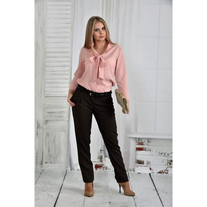 Розовая блузка 42-74 размер ККК643-0409-2