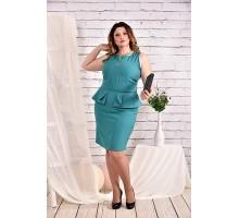 Бирюзовое платье 42-74 размер ККК431-0464-3