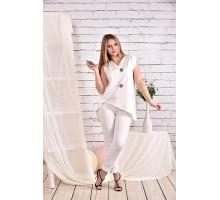Блуза молоко 42-74 размер ККК430-0465-1