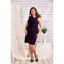 Баклажановое платье 42-74 размер ККК425-0466-3