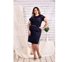 Синее платье 42-74 размер ККК417-0469-2