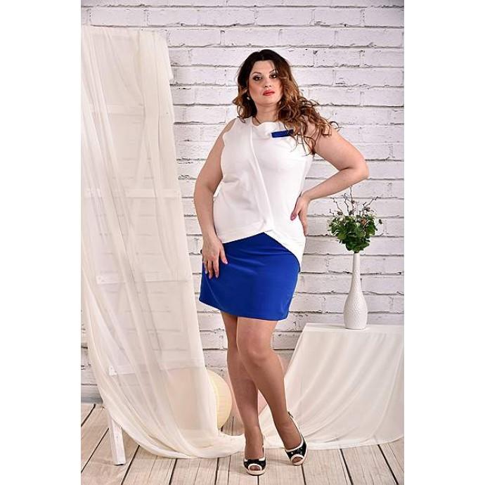 Платье электрик 42-74 размер ККК49-0472-1