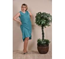 Платье зеленое ККК1-0237-1
