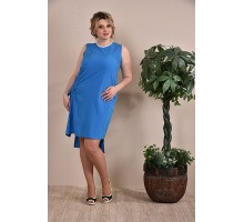 Платье голубое ККК1-0237-2