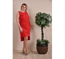 Платье красное ККК1-0237-3