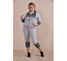 Спортивный костюм серый ККК1-0253-1