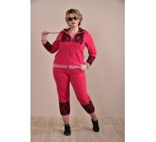 Спортивный костюм красный ККК1-0253-2