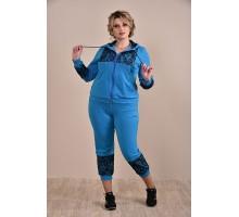 Спортивный костюм синий ККК1-0253-3