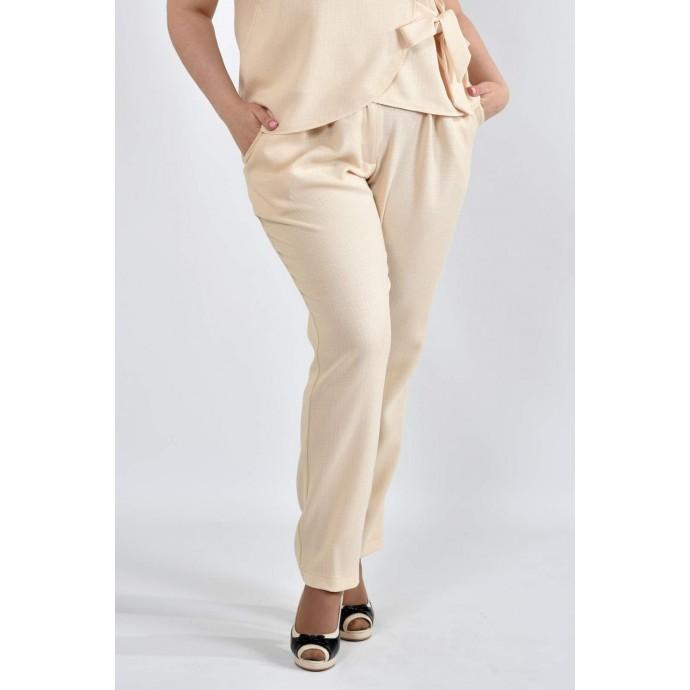 Светлые брюки 42-74 размеры ККК101-Б025-3