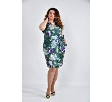 Платье с принтом ККК1065-0476-4