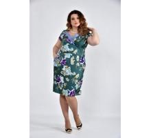 Платье с принтом ККК1064-0495-4