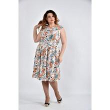 Платье цветное ККК1063-0497-1