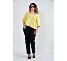 Блузка желтая ККК1030-0509-1