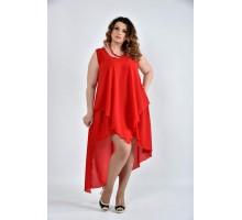 Платье алое 42-74 размеры ККК1011-0515-2