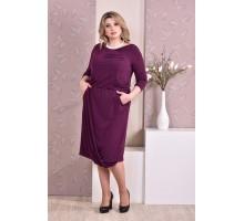 Фиолетовое платье ККК93-0178-2