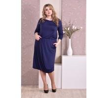 Синее платье ККК92-0178-1