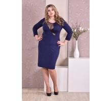 Синее платье ККК96-0195-2