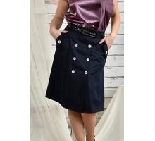 Синяя юбка 42-74 размер ККК222-0438-1