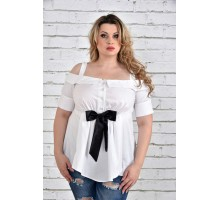 Блуза белая ККК1538-0331-1