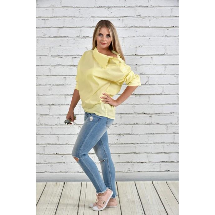 Блузка желтая ККК1513-0341-1
