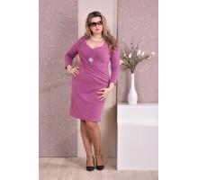 Платье фуксия ККК816-0191-3