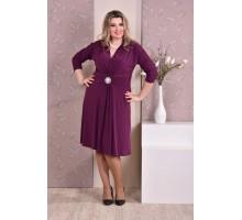 Фиолетовое платье ККК820-0205-1