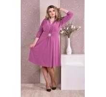 Платье фуксия ККК822-0205-3