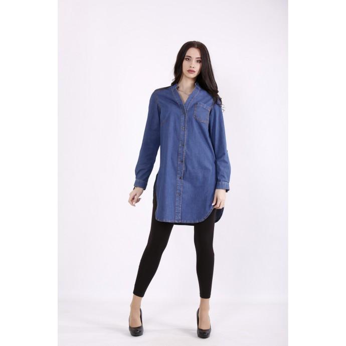 Голубая джинсовая рубашка КККZ12-j01447-1
