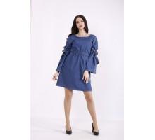 Синее джинсовое платье-туника КККZ14-j01446-1