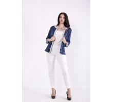 Синяя джинсовая куртка КККZ15-j01445-1