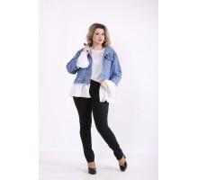 Голубая джинсовая куртка КККZ16-j01444-1