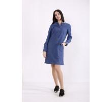Синее джинсовое платье КККZ18-j01443-1