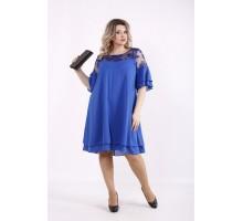 Шифоновое платье электрик КККZ28-01439-2