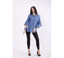 Светлая джинсовая рубашка КККZ5-j01450-1