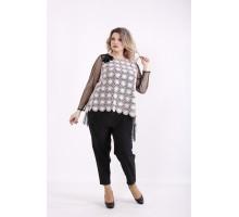 Пудровая блузка КККZ57-01429-2