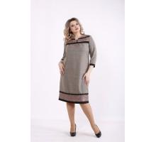 Платье горчица КККZ60-01428-2