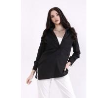 Комплект: майка молоко и черная блузка КККZ10-01448-1