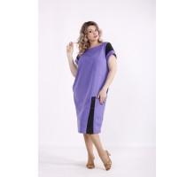 Сиреневое платье КККX0014-01493-2