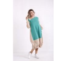 Льняное платье-мешок КККX0019-01491-3