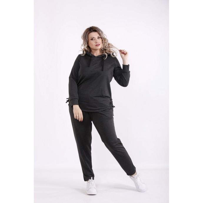 Темно-серый спортивный костюм КККX0026-01489-2