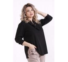 Черная блузка КККX0035-01486-2