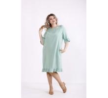 Зеленое платье КККX0037-01485-3
