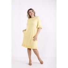Лимонное платье КККX0038-01485-2