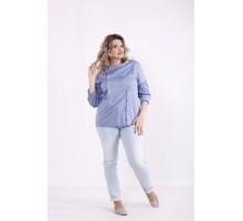 Голубая блузка КККX0040-01484-3