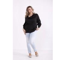 Черная блузка КККX0041-01484-2