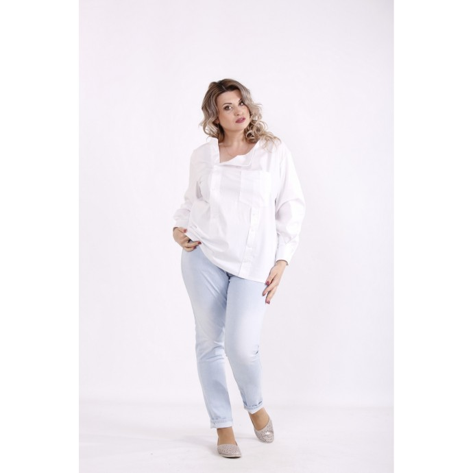 Белая блузка КККX0042-01484-1
