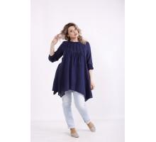Синяя блузка КККX0049-01481-3