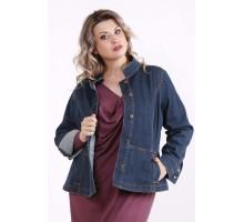 Темная джинсовая куртка КККX0055-j01478-2